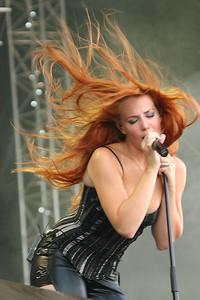 red headed rocker